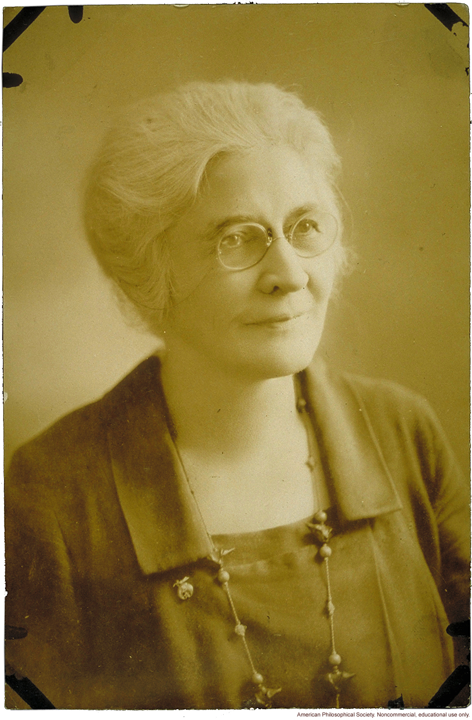 Mary T. Watts, American Eugenics Society, Chairman of the Education Committee and founder of the Fitter Families Contests