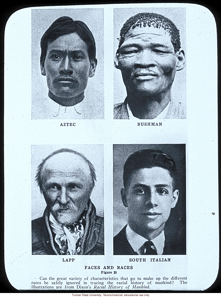 &quote;Faces and Races&quote; (from around the world)