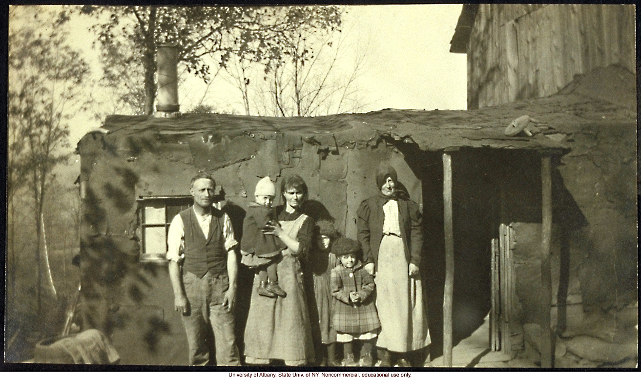 Field work for <i>The Jukes in 1915</i>, Arthur Estabrook photographs from Ulster County, New York