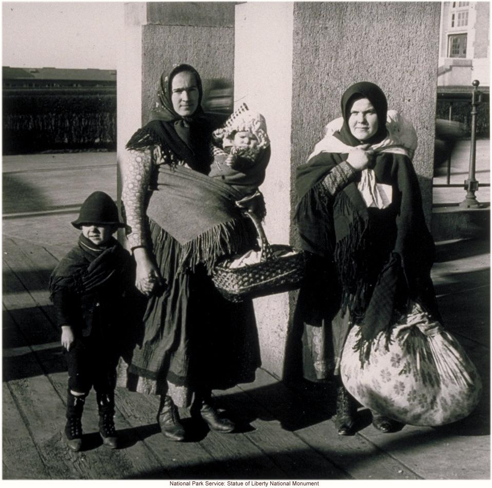 &quote;Slavs&quote; at Ellis Island