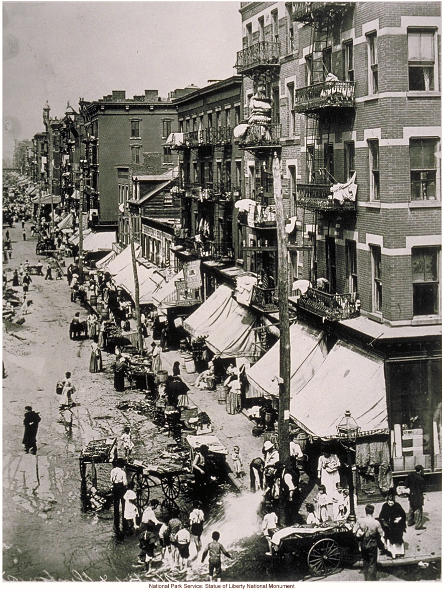 Little Italy, showing life in lower Manhattan around the turn of the 20th century