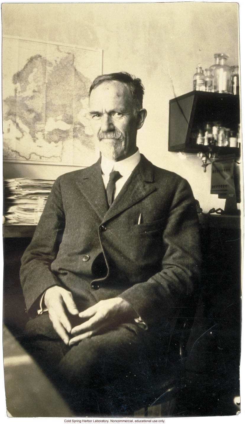 Charles B. Davenport, Director, Eugenics Record Office, Carnegie Department of Genetics, and Biological Laboratory, Cold Spring Harbor
