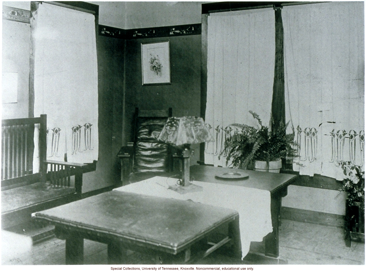 Interior of Mothers Congress Model Home, Louisiana State Fair, Shreveport