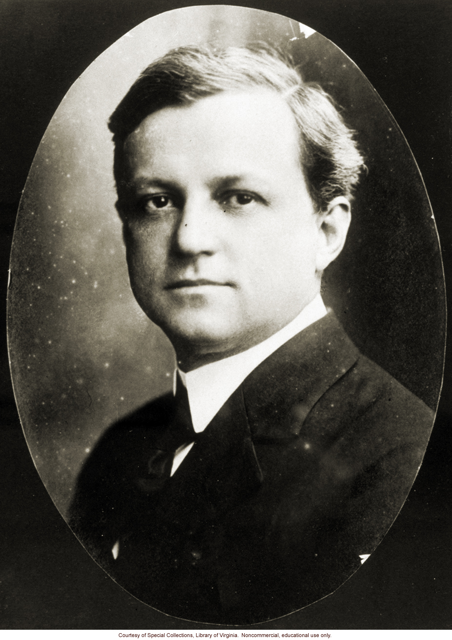 Aubrey Strode, the lawyer who wrote the Virginia sterilization law and who took Buck vs. Bell to the U.S. Supreme Court
