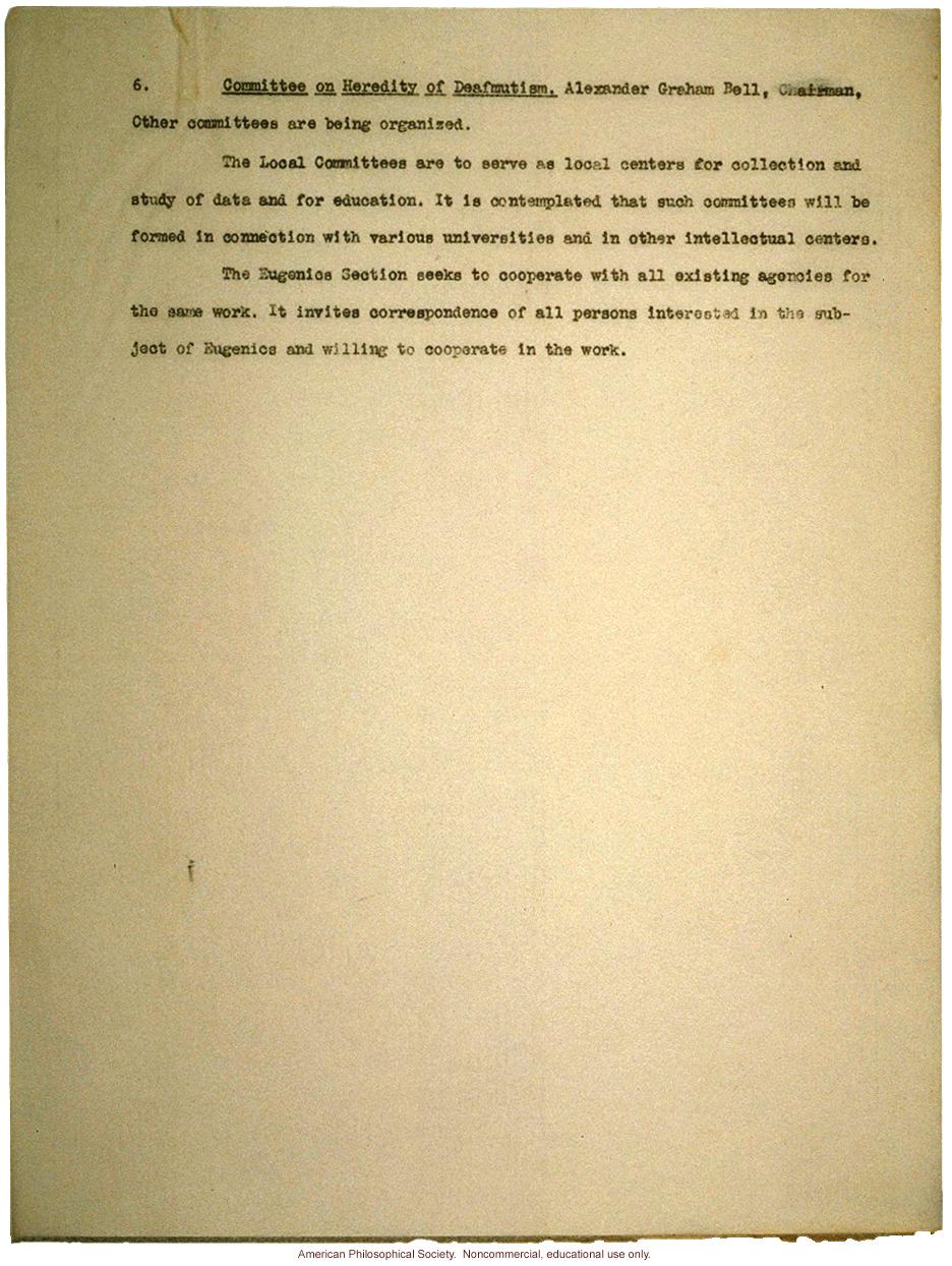 Description of the American Breeders Association (ABA)