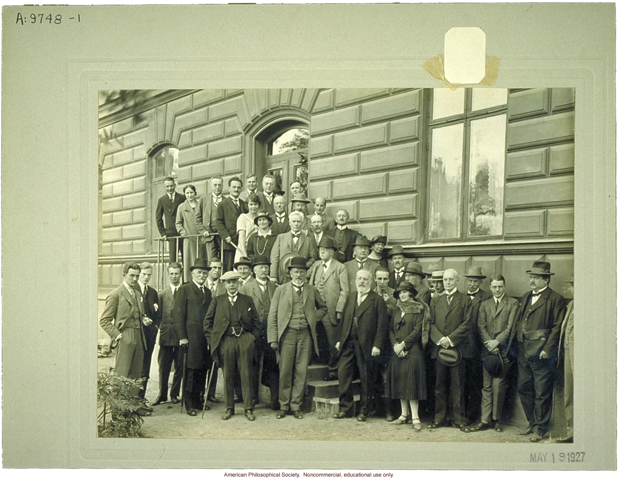 Participants in the first Nordic Race Conference