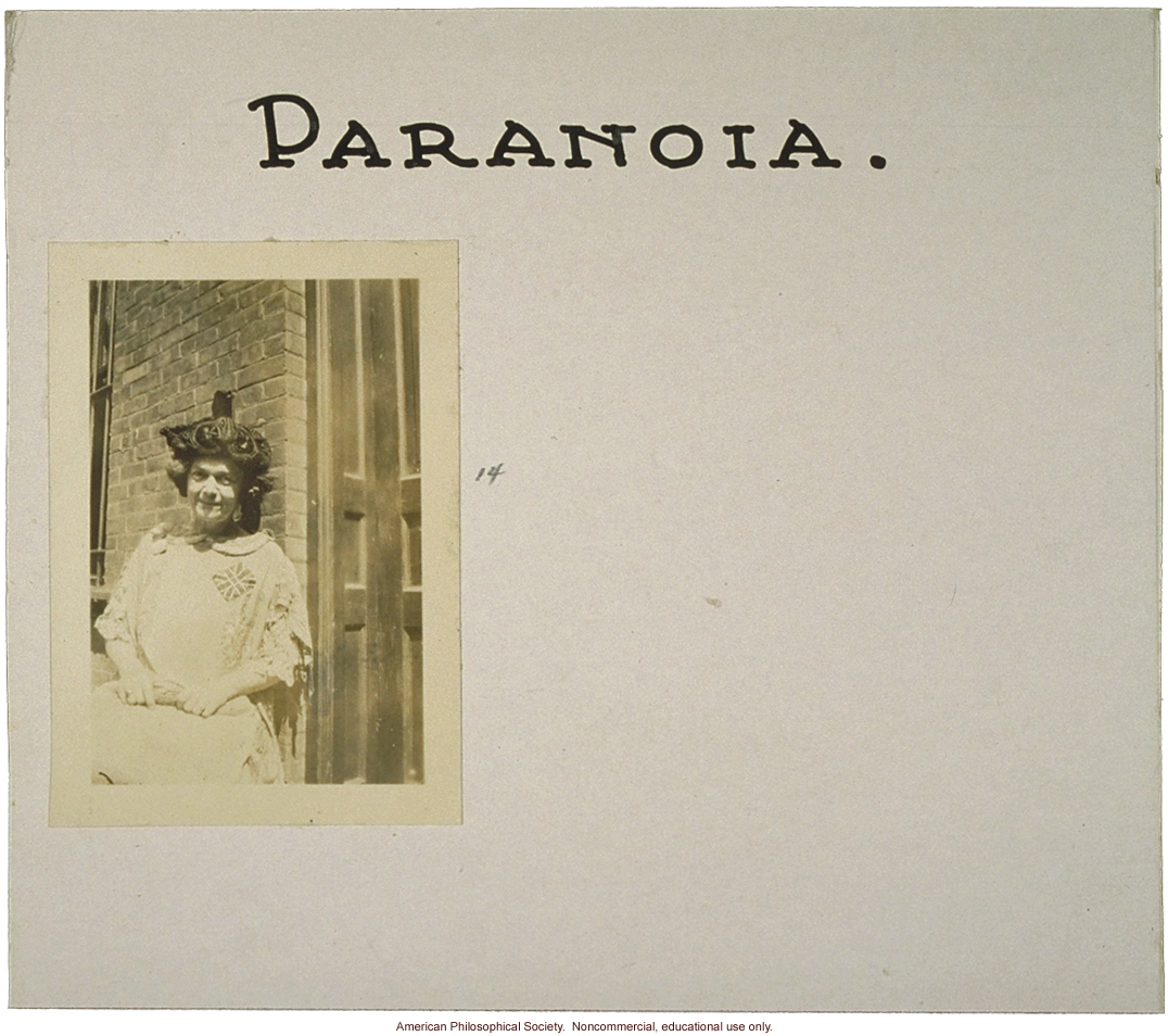 &quote;Paranoia,&quote; flash card on genetic defects