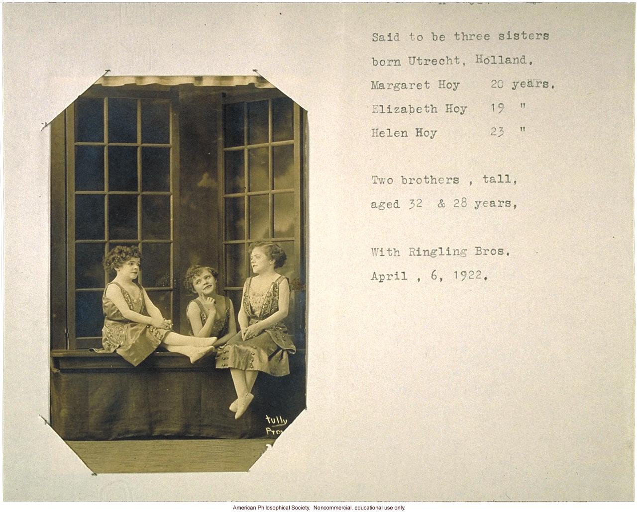 Three dwarf sisters