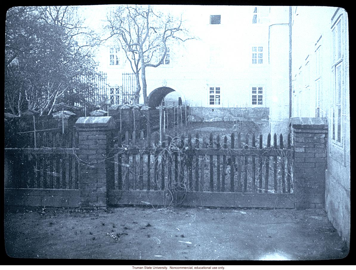 Gregor Mendel's garden