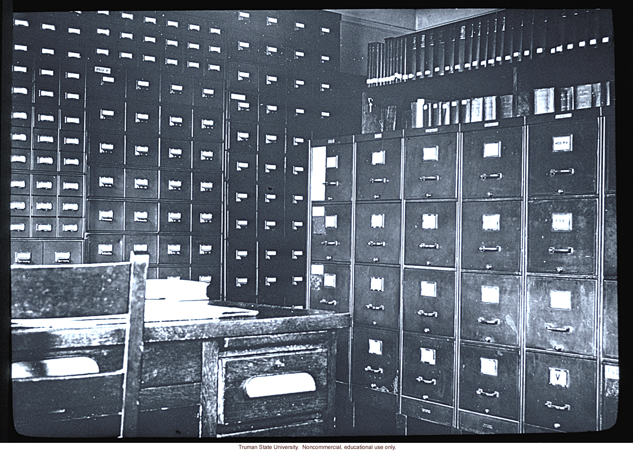 Archives at the Eugenics Record Office