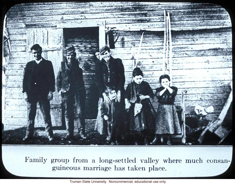 &quote;Family group from a long-settled valley where much consanguineous marriage has taken place&quote;