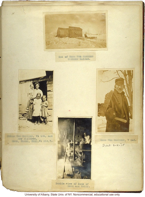 The Nam Family, by A. Estabrook and C. Davenport, field photographs and portraits with pedigree numbers from back of Estabrook's copy