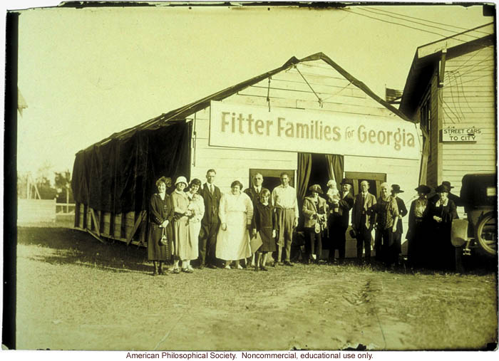 Fitter Families contestants at Georgia State Fair, Savannah
