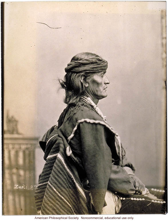 Pah-lowatiwa, Zuni, Bureau of American Ethnology