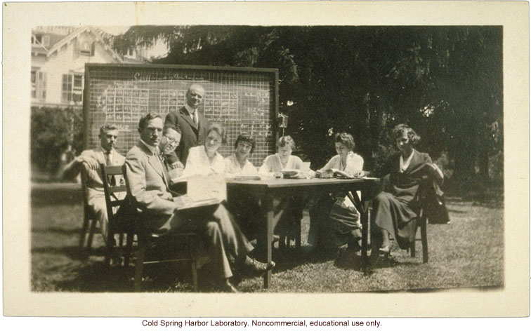Eugenics Record Office, Field Worker Training Class of 1918 (Laughlin at back)
