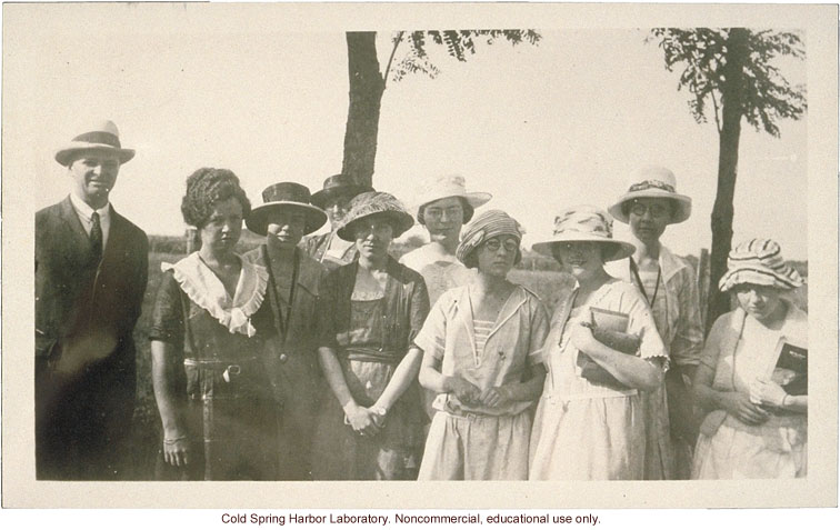 Eugenics Record Office, Field Worker Training Class of 1921 (Laughlin on far left)