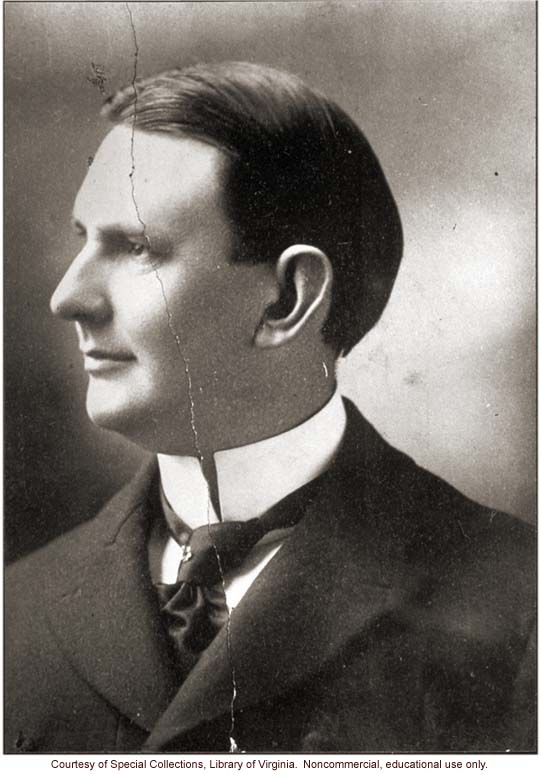 Dr. Albert Priddy, the first superintendent of the Virginia Colony for Epileptics and the Feebleminded, who brought the case against Carrie Buck
