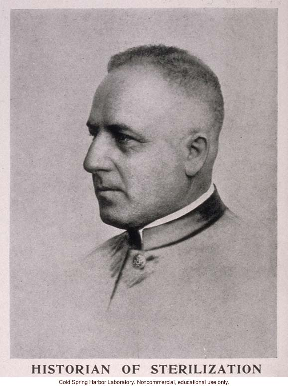 Joseph Mayer, from &quote;The Progress of Eugenical Sterilization,&quote; by Paul Popenoe, <i>Journal of Heredity</i> (vol. 25:1)