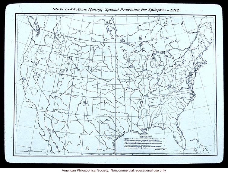 &quote;State institutions making special provisions for epileptics -- 1917&quote;